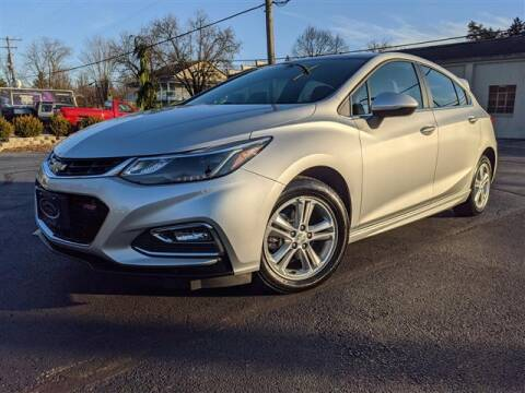 2017 Chevrolet Cruze for sale at GAHANNA AUTO SALES in Gahanna OH