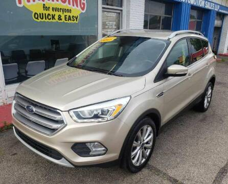 2017 Ford Escape for sale at AutoMotion Sales in Franklin OH