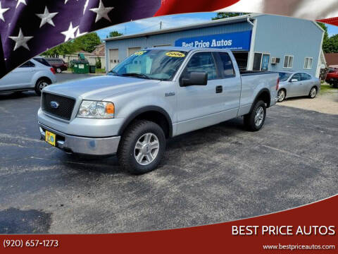 2006 Ford F-150 for sale at Best Price Autos in Two Rivers WI