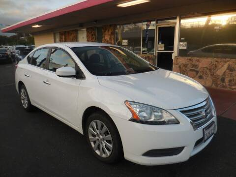 2015 Nissan Sentra for sale at Auto 4 Less in Fremont CA