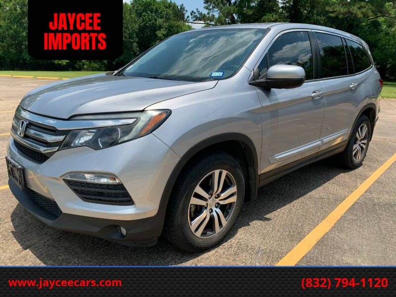 2016 Honda Pilot for sale at JAYCEE IMPORTS in Houston TX