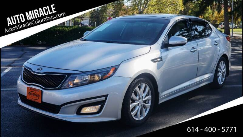 2015 Kia Optima for sale at Auto Miracle in Columbus OH