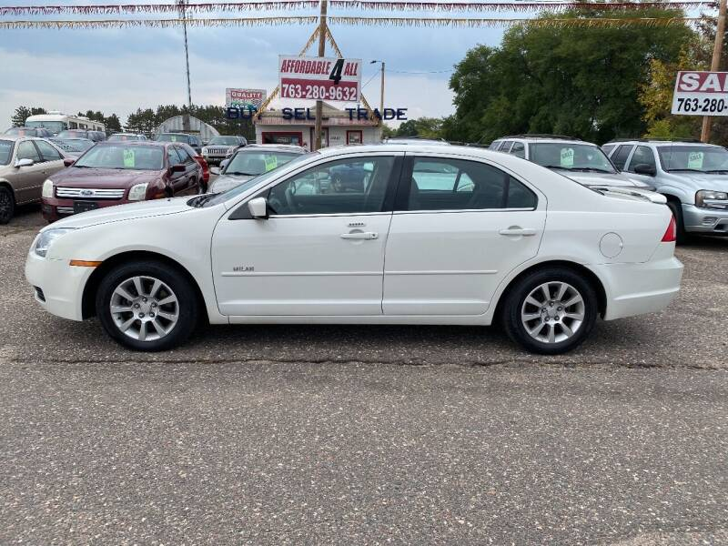 2008 Mercury Milan for sale at Affordable 4 All Auto Sales in Elk River MN