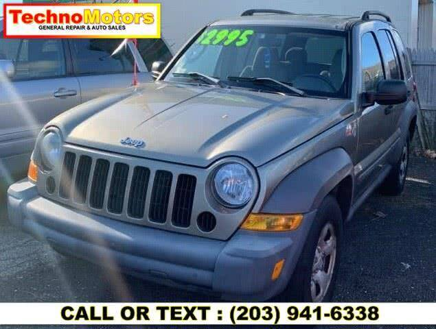 2006 Jeep Liberty for sale at Techno Motors in Danbury CT