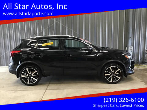 2017 Nissan Rogue Sport for sale at All Star Autos, Inc in La Porte IN