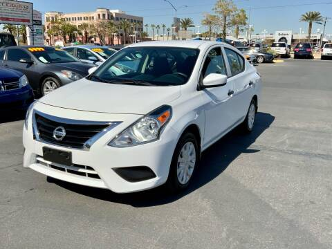 2017 Nissan Versa for sale at Charlie Cheap Car in Las Vegas NV