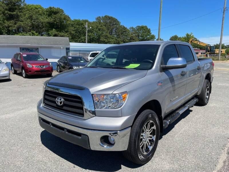 2008 Toyota Tundra for sale at U FIRST AUTO SALES LLC in East Wareham MA