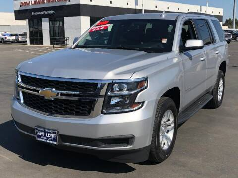 2020 Chevrolet Tahoe for sale at Dow Lewis Motors in Yuba City CA