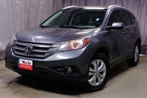 2014 Honda CR-V for sale at Fincher's Texas Best Auto & Truck Sales in Houston TX