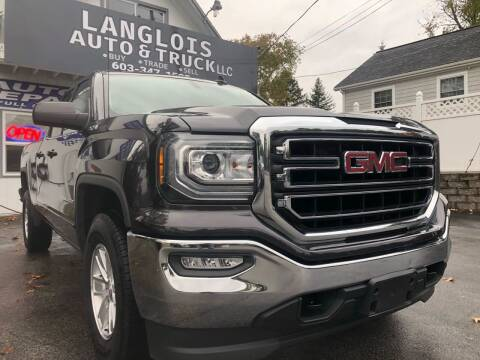 2016 GMC Sierra 1500 for sale at Langlois Auto and Truck LLC in Kingston NH