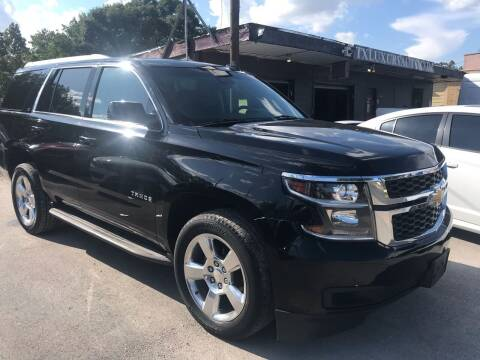 2015 Chevrolet Tahoe for sale at Texas Luxury Auto in Houston TX