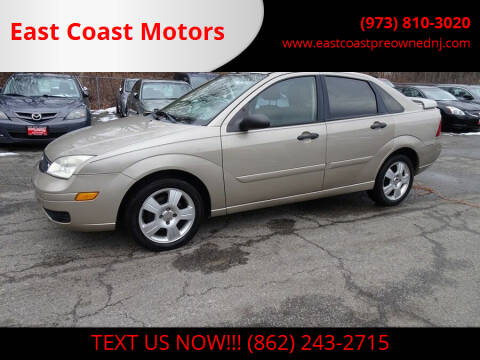 2006 Ford Focus for sale at East Coast Motors in Lake Hopatcong NJ