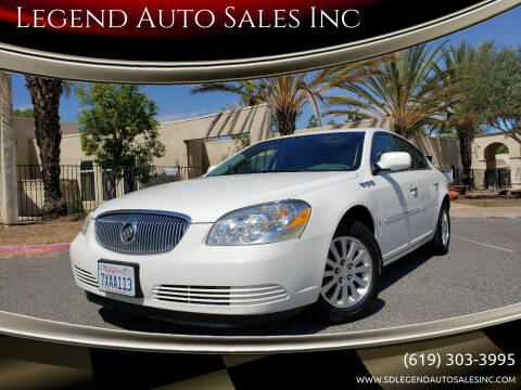 2006 Buick Lucerne for sale at Legend Auto Sales Inc in Lemon Grove CA