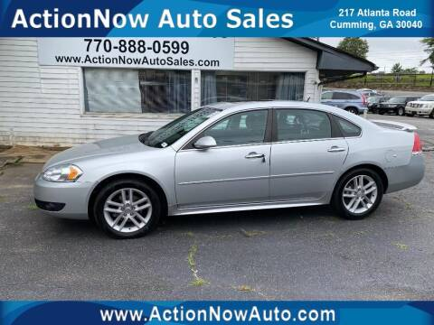 2013 Chevrolet Impala for sale at ACTION NOW AUTO SALES in Cumming GA