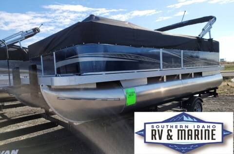 2021 MONTEGO BAY PONTOON F8518 for sale at SOUTHERN IDAHO RV AND MARINE in Jerome ID