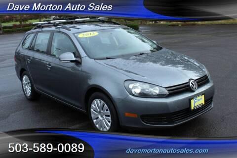 2013 Volkswagen Jetta for sale at Dave Morton Auto Sales in Salem OR