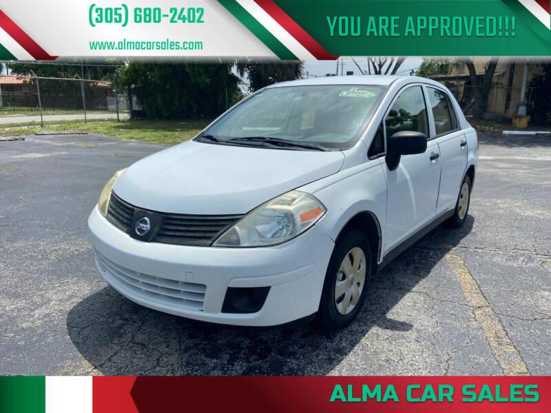 2009 Nissan Versa for sale at Alma Car Sales in Miami FL