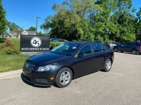 2013 Chevrolet Cruze for sale at Station 45 Auto Sales Inc in Allendale MI