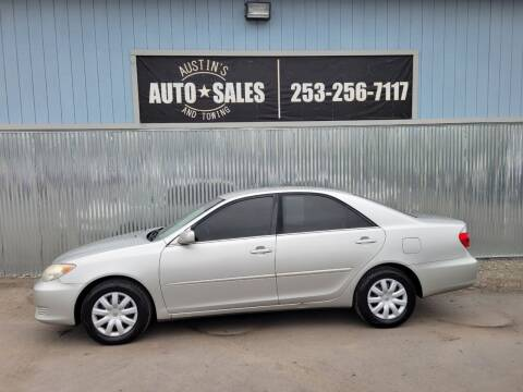 2005 Toyota Camry for sale at Austin's Auto Sales in Edgewood WA