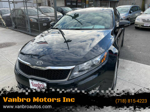 2012 Kia Optima for sale at Vanbro Motors Inc in Staten Island NY