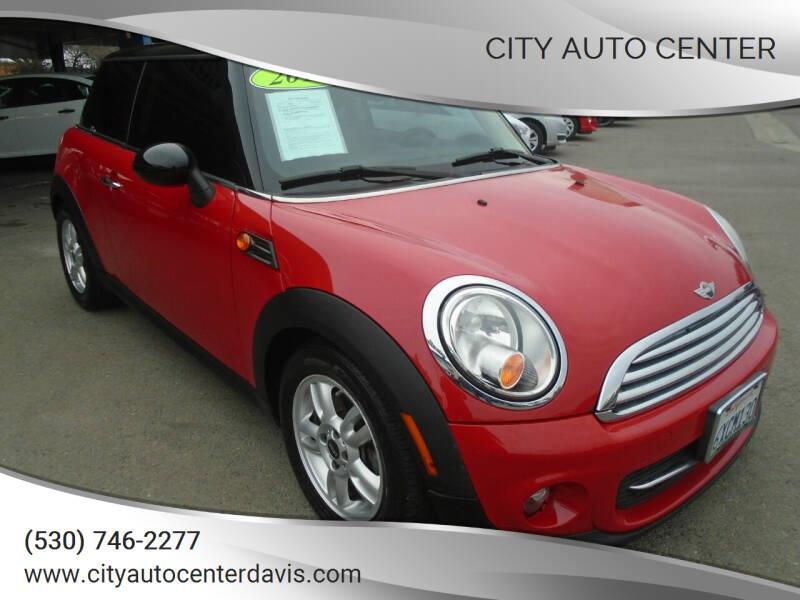 2012 MINI Cooper Hardtop for sale at City Auto Center in Davis CA