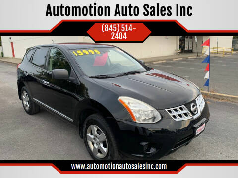2011 Nissan Rogue for sale at Automotion Auto Sales Inc in Kingston NY