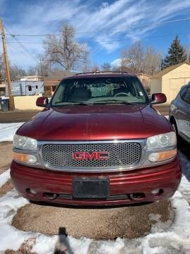 2002 GMC Yukon for sale at PYRAMID MOTORS AUTO SALES in Florence CO