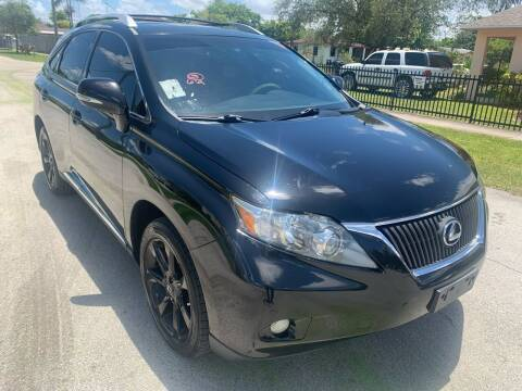2011 Lexus RX 350 for sale at Eden Cars Inc in Hollywood FL