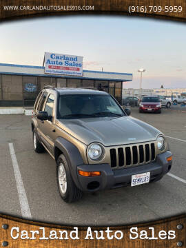 2003 Jeep Liberty for sale at Carland Auto Sales in Sacramento CA