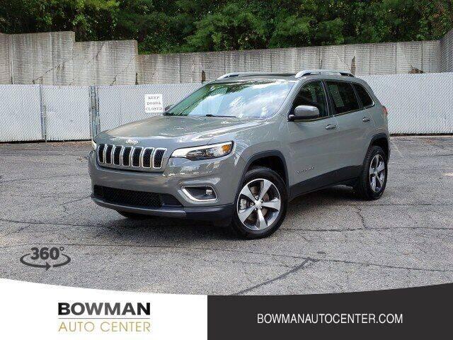 2020 Jeep Cherokee for sale at Bowman Auto Center in Clarkston MI
