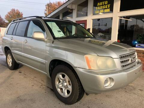 2003 Toyota Highlander for sale at Auto Target in O'Fallon MO