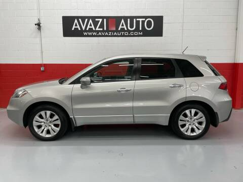 2010 Acura RDX for sale at AVAZI AUTO GROUP LLC in Gaithersburg MD