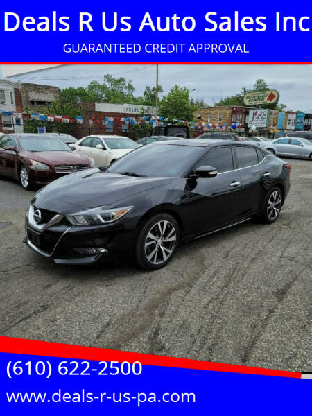 2017 Nissan Maxima for sale at Deals R Us Auto Sales Inc in Lansdowne PA