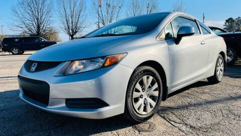 2012 Honda Civic for sale at Capital Motors in Raleigh NC
