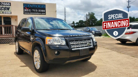 2010 Land Rover LR2 for sale at ZORA MOTORS in Rosenberg TX