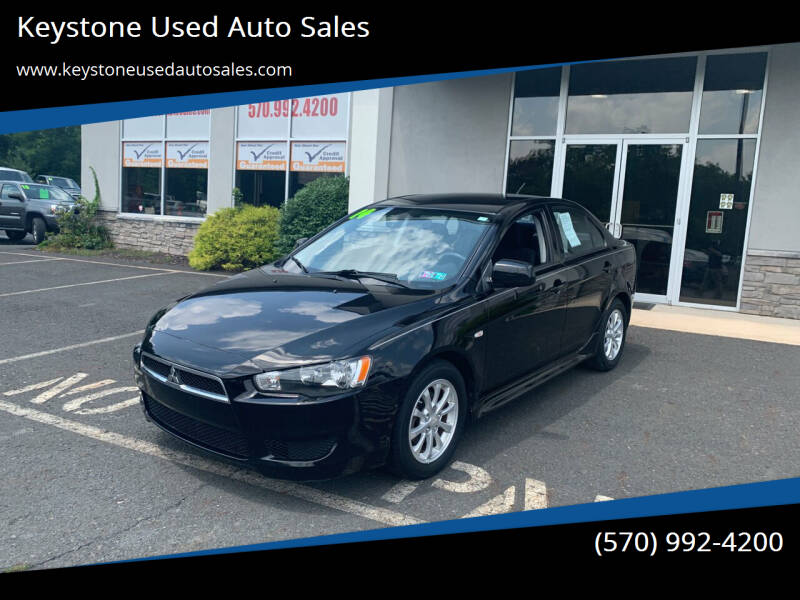 2014 Mitsubishi Lancer for sale at Keystone Used Auto Sales in Brodheadsville PA