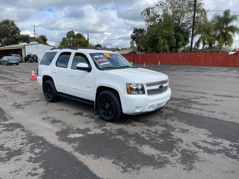 2012 Chevrolet Tahoe for sale at Mega Motors Inc. in Stockton CA