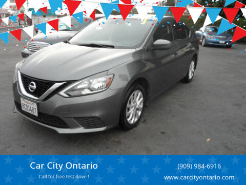 2017 Nissan Sentra for sale at Car City Ontario in Ontario CA