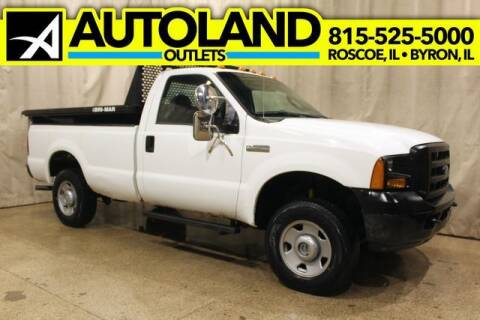 2005 Ford F-250 Super Duty for sale at AutoLand Outlets Inc in Roscoe IL