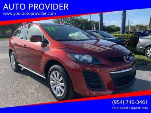 2010 Mazda CX-7 for sale at AUTO PROVIDER in Fort Lauderdale FL