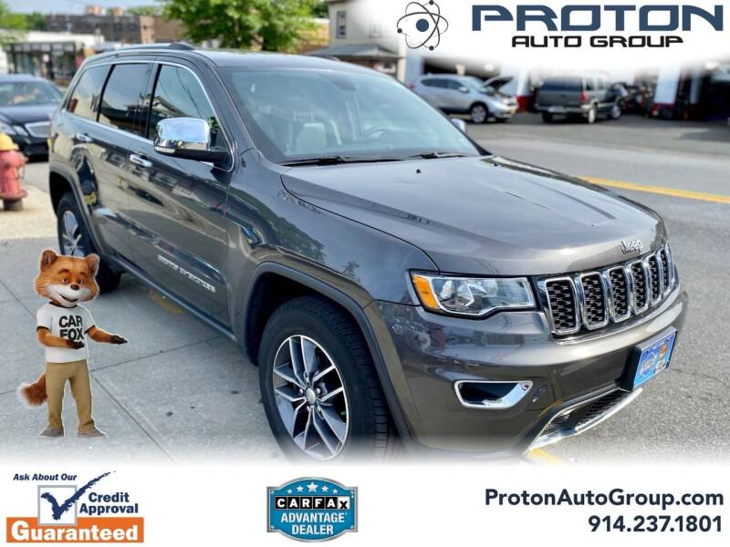 2018 Jeep Grand Cherokee for sale at Proton Auto Group in Yonkers NY
