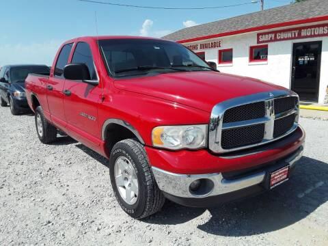2002 Dodge Ram Pickup 1500 for sale at Sarpy County Motors in Springfield NE