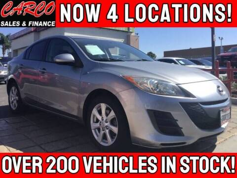 2010 Mazda MAZDA3 for sale at CARCO SALES & FINANCE #3 in Chula Vista CA