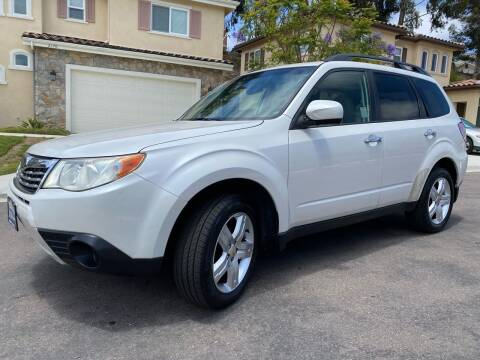 2010 Subaru Forester for sale at CALIFORNIA AUTO GROUP in San Diego CA