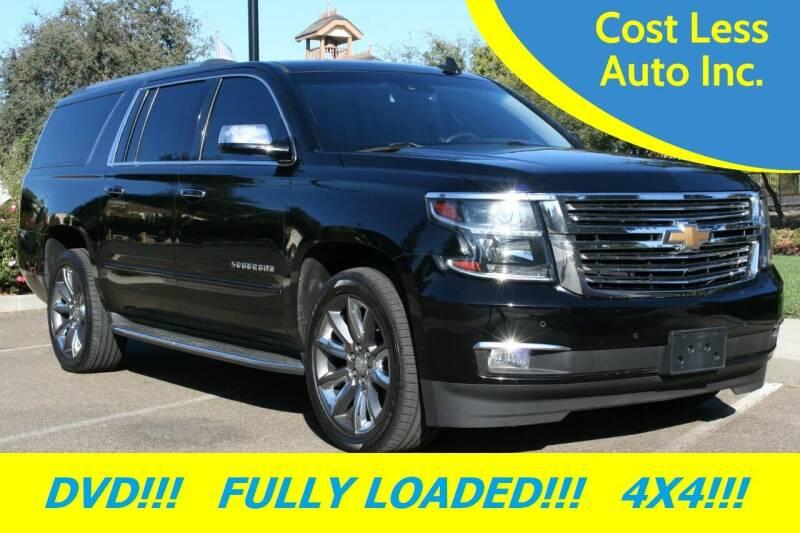 2015 Chevrolet Suburban for sale at Cost Less Auto Inc. in Rocklin CA