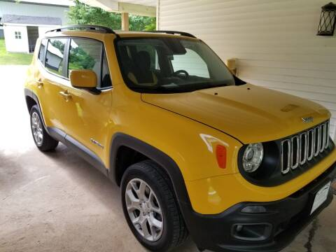 2017 Jeep Renegade for sale at Clairemont Motors in Eau Claire WI