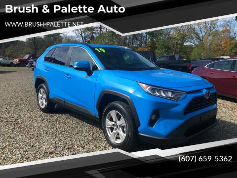 2019 Toyota RAV4 for sale at Brush & Palette Auto in Candor NY