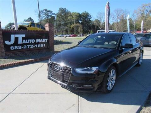 2014 Audi A4 for sale at J T Auto Group in Sanford NC