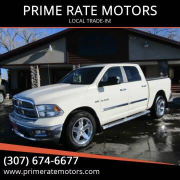 2010 Dodge Ram Pickup 1500 for sale at PRIME RATE MOTORS in Sheridan WY
