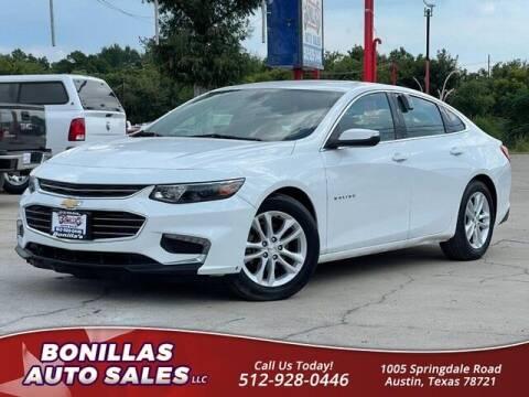 2016 Chevrolet Malibu for sale at Bonillas Auto Sales in Austin TX